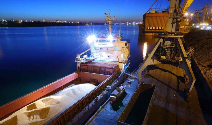 В порту «Південний» побудують зерновий термінал