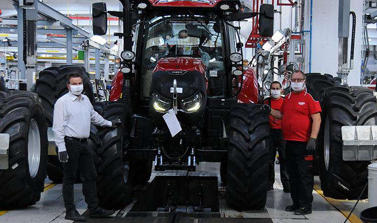 Завод Steyr, де виробляються трактори Case IH, здобуває престижну нагороду