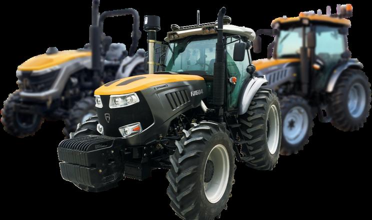 FJDynamics показав комплекти роботизації автомобіля, трактора та обприскувача