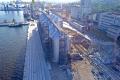На будівництві зернового термінала в Маріуполі звели фундамент норійної вежі