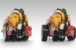 Цистерна для гноївки Veenhuis Quad-Shift мінімально ущільнює ґрунт