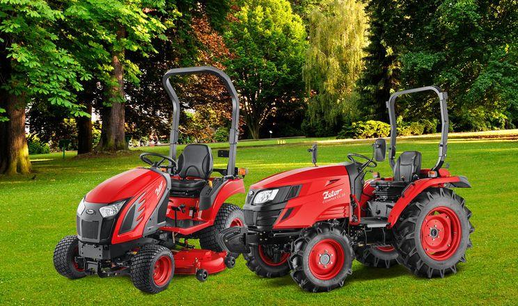 Zetor випустив малопотужні трактори Primo і Compax