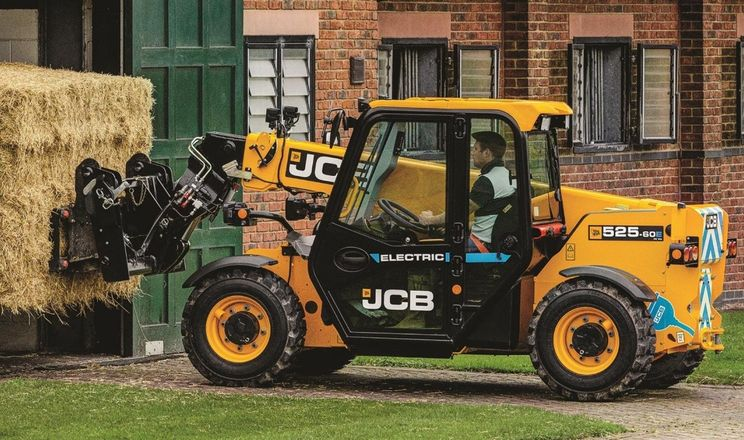 JCB представив електричний навантажувач