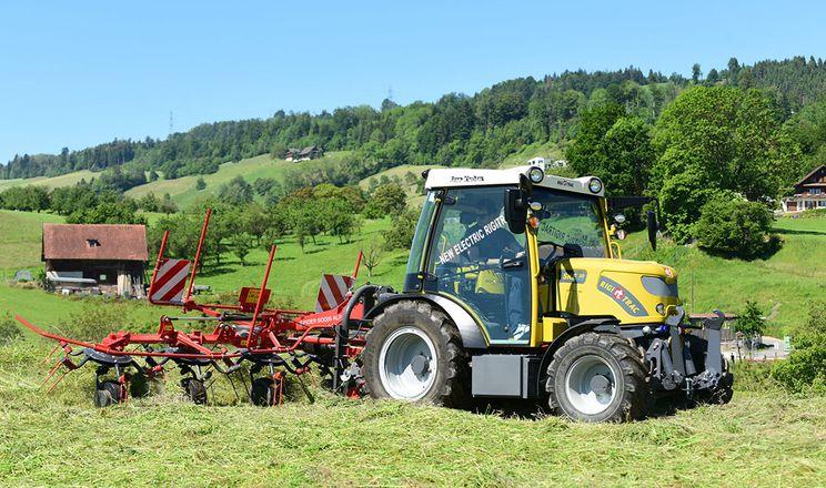 У Швейцарії вироблятимуть електричний трактор
