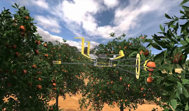 Ізраїльські дрони збирають фрукти