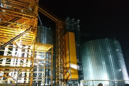 На Київщині KMZ Industries звів елеватор потужністю 50 тис. тонн