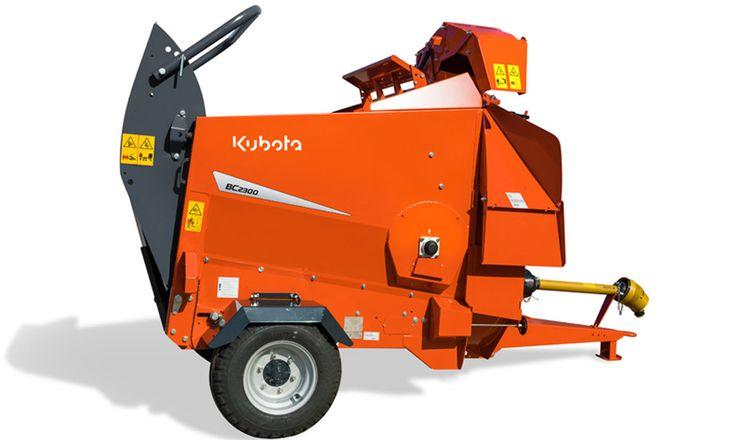 Kubota випустила новий подрібнювач соломи BC 2300