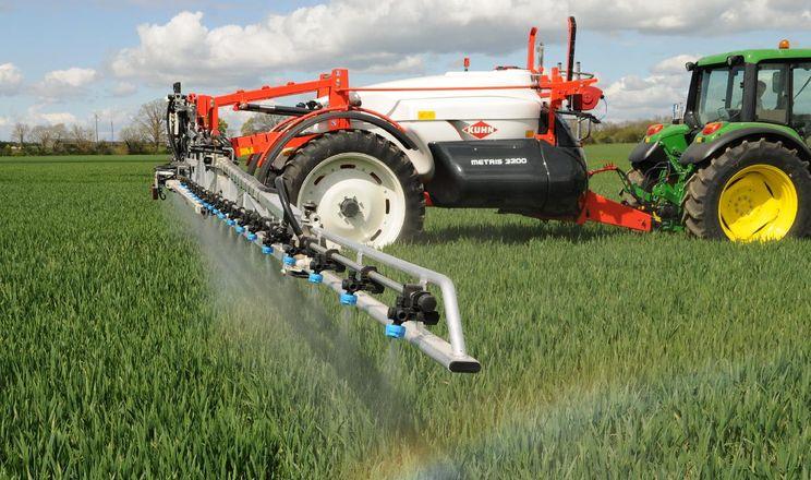 Технологія Autospray підтримує норми виливу й оптимальний розмір крапель без заміни форсунок