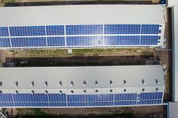 Фотоелектричні панелі навіть на частині даху пташника забезпечать електроенергією для його освітлення і вентиляції