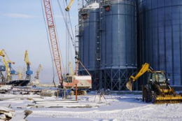 В Маріупольскому порту будують зерновий комплекс