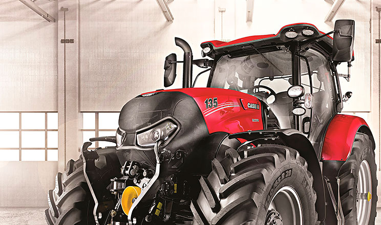 Трактори Case IH та STEYR відтепер матимуть надзвичайно витривале лакофарбове покриття