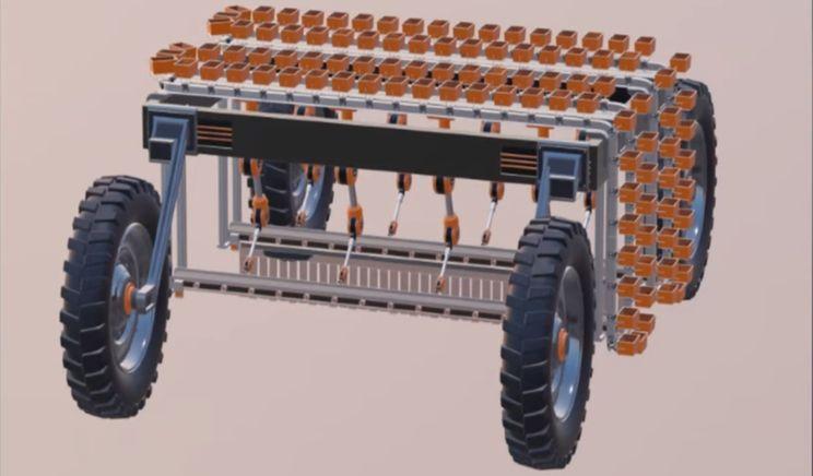 В Україні конструюють 12-рукого робота-збирача суниці садової