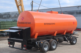 «Завод Кобзаренка» презентує пересувну АЗС – причіп-паливозаправник