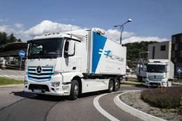 У червні відбудеться світова прем'єра електричної вантажівки Mercedes-Benz eActros