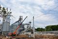 «Нива Переяславщини» зводить на Київщині новий елеваторний комплекс