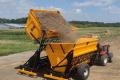 Тракторний причіп ПС-22 збільшує продуктивність роботи комбайну на 40%