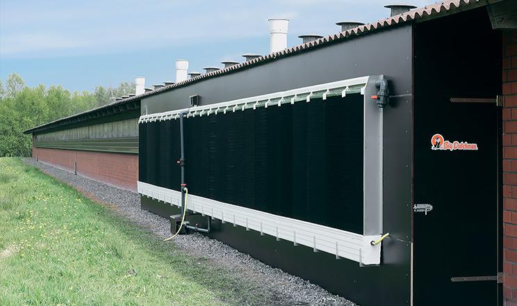 RainMaker від Big Dutchman – ідеальна система охолодження для пташників із тунельною вентиляцією