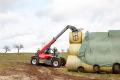 Навантажувач Weidemann Т6027 стійкий у роботі з великою вагою