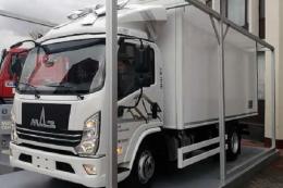 МАЗ презентував нову середньотоннажну вантажівку