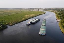 «НІБУЛОН» транспортував рекордну кількість продукції річками