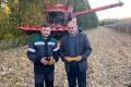 «Кусто Агро» на Житомирщині збирає кукурудзу з урожайністю понад 10 т/га